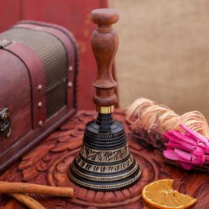 колокольчик с гравировкой, 11х18см