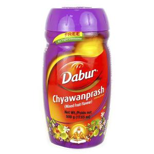 Чаванпраш Мультифрукт Дабур (Chyawanprash Mixedfruit Dabur), 500 грамм