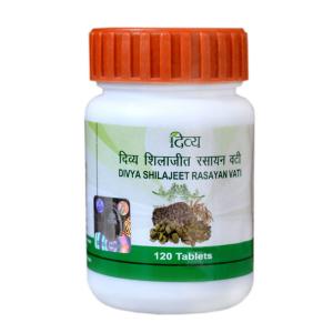 Шиладжит Расаяна Дивья (Shilajeet Rasayan Divya), 120 таблеток