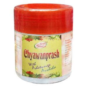 Чаванпраш Аштаварг Авалеха Шри Ганга (Chyawanprash With Ashatwarga Awaleha Shri Ganga), 500 грамм