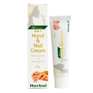 крем для рук и укрепления ногтей (Hand and Nail cream Ayushakti), 25 мл
