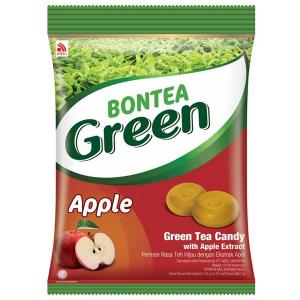 леденцы с экстрактами зелёного чая и яблока (Green Apple Bontea) 135 грамм