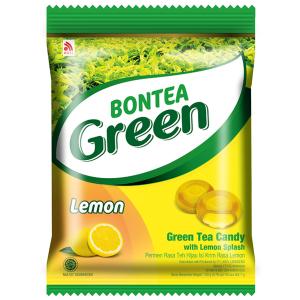 леденцы с экстрактами зелёного чая и лимона (Green Lemon Bontea) 135 грамм