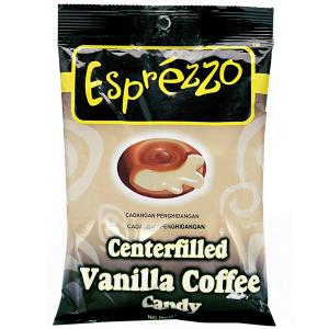 леденцы кофейные с ванильной начинкой (Vanilla Coffee Esprezzo), 150 грамм
