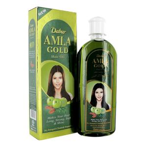 масло для волос Dabur Amla золотое, 200 мл.