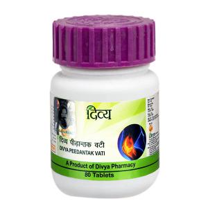 Пидантак Вати Дивья (Peedantak Vati Divya), 80 таблеток