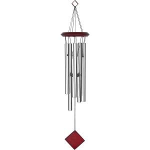 музыка ветра 6 трубочек металл, высота 70 см.