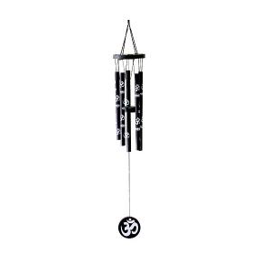 музыка ветра Ом малая, 5 трубочек, высота 45 см