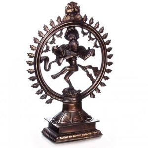 Шива Натарадж статуэтка, силумин 47 см