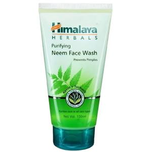 гель очищающий для умывания с Нимом Хималая (Neem facewash Himalaya), 150 мл