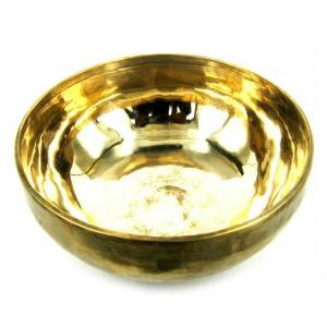 поющая чаша кованная лечебная 8 металлов, 12-14 см