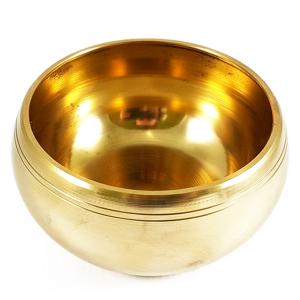 поющая чаша литая для настройки чакр сплав 7 металлов, 13 см