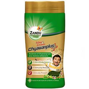 Чаванпраш Плюс Сона Чанди Занду (Chyawanprash Plus Sona Chandi Zandu), 900 грамм