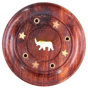 подставка для ароматических палочек Слон, диаметр 90 мм