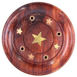 подставка для ароматических палочек Звезда, диаметр 90 мм