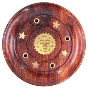 подставка для ароматических палочек Солнце, диаметр 90 мм