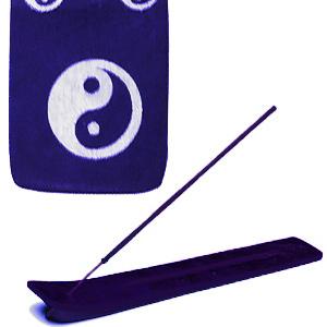 подставка для благовоний лыжа Инь-Ян цвет синий