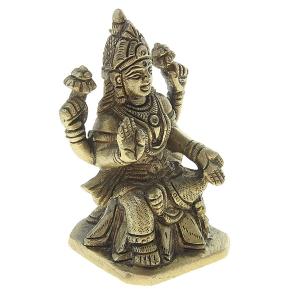 статуэтка из латуни Богиня Лакшми, 8 см
