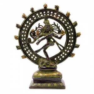 Шива Натарадж статуэтка, бронза 25см