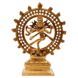 статуэтка Шива Натарадж, бронза 21см