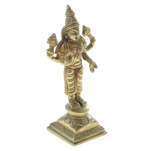 статуэтка из латуни Бог Вишну, 10 см