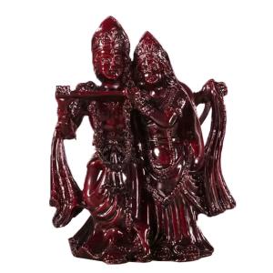 статуэтка Радха и Кришна, полистоун 12 см