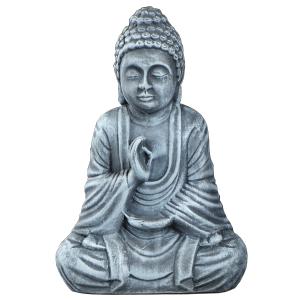 статуя Будда Амогхасиддхи керамика, 28 см