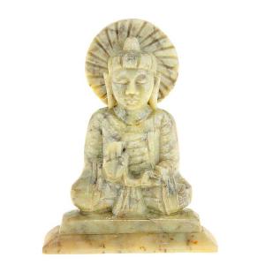 статуя Будда Абхая-мудра, камень 10 см