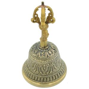 Поющий тибетский колокол Дрильбу 7 металлов, 13 см