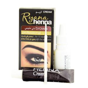 хна для бровей Ryana коричневая (Ryana Henna brown), 15 мл